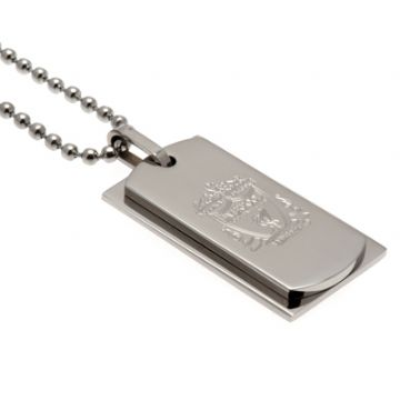 Liverpool FC Double Dog Tag & Chain